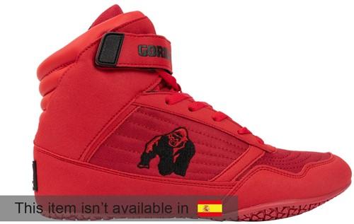 Gorilla Wear High Tops - Red - EU 45