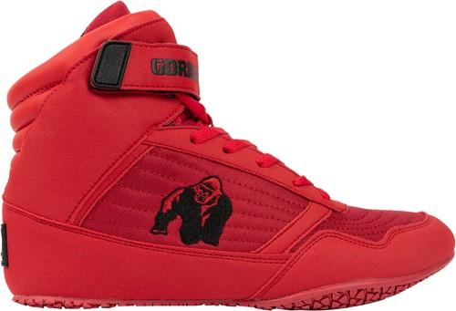 Gorilla Wear High Tops - Red - EU 42
