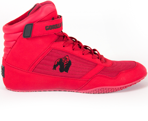 Gorilla Wear High Tops - Red - EU 36