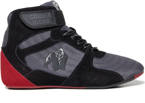 Perry High Tops Pro - Gray/Black/Red - EU 36