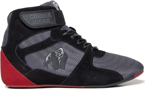 Perry High Tops Pro - Gray/Black/Red - EU 47