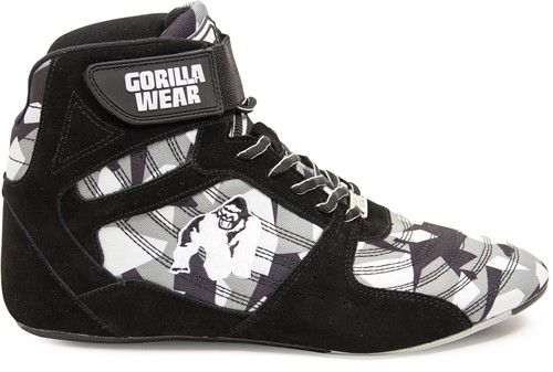 Perry High Tops Pro - Black/Gray Camo - EU 38