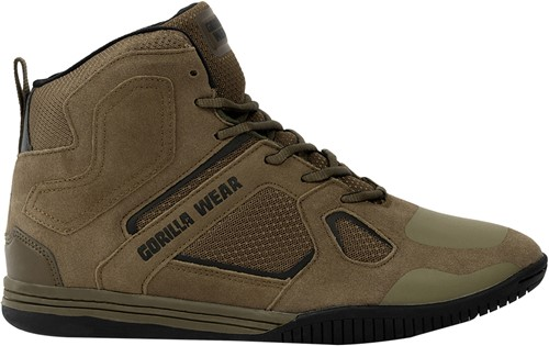 Troy High Tops - Army Green - EU 36