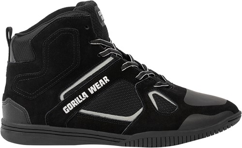 Troy High Tops - Black/Gray - EU 43