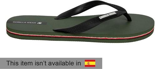 Kokomo Flip-Flops - Army Green - EU 38