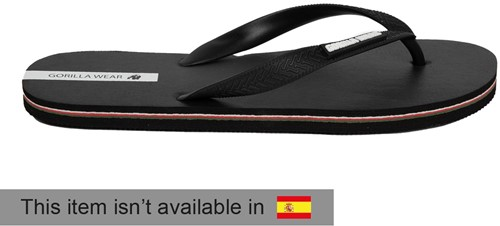 Kokomo Flip-Flops - Black - EU 44
