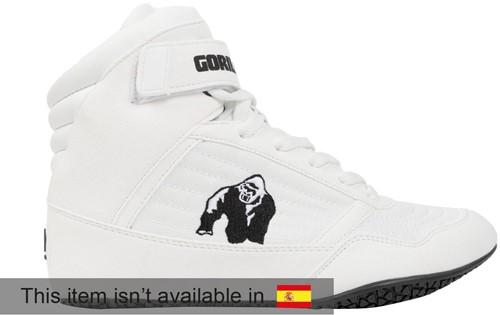 Gorilla Wear High Tops - White - EU 36