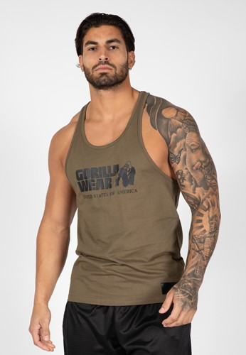 Classic Tank Top - Army Green - S