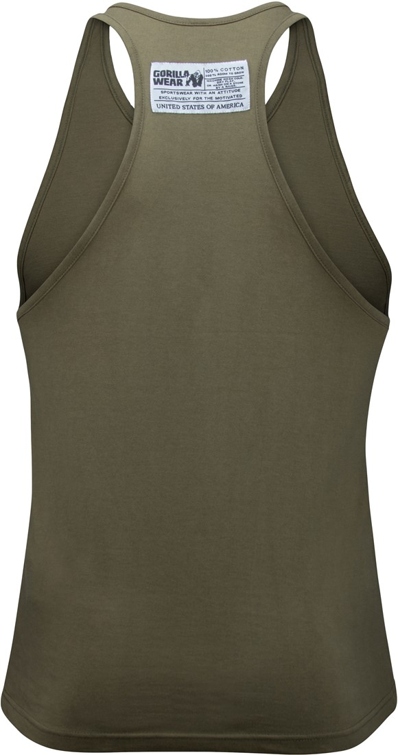 f1566e573eb92 MONTH SPECIAL Classic Tank Top - Army Green-2