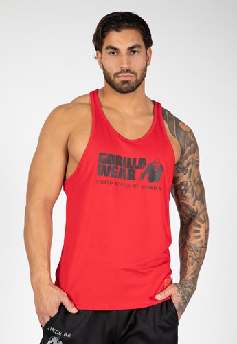 Classic Tank Top - Red - M