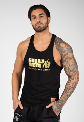 Classic Tank Top - Gold-S
