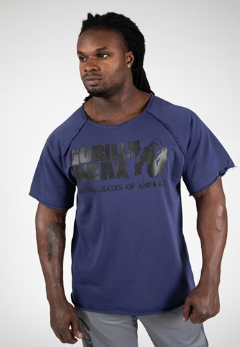Classic Workout Top - Navy - S/M