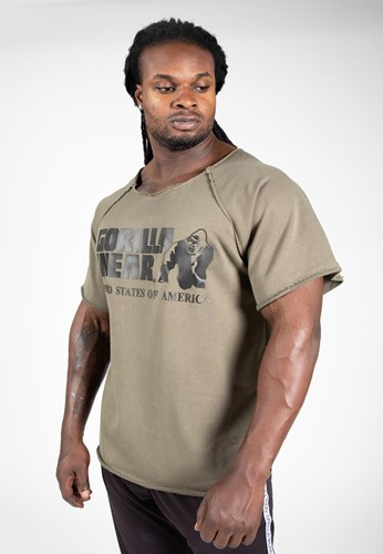 Classic Workout Top - Army Green - S/M