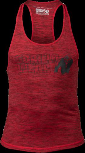 Austin Tank Top - Red/Black