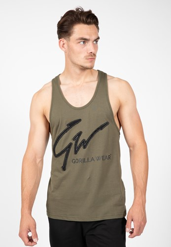Evansville Tank Top - Army Green - S