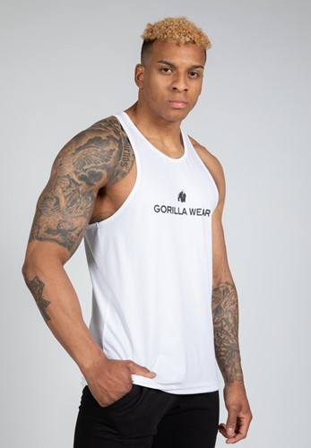 Carter Stretch Tank Top - White - S