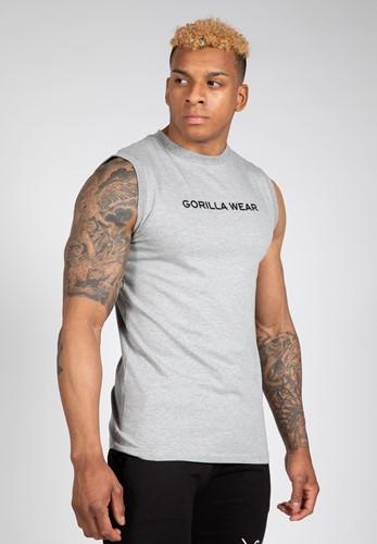 Sorrento Sleeveless T-Shirt - Gray - L