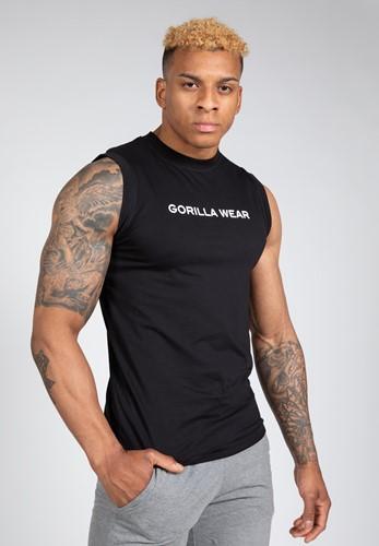 Sorrento Sleeveless T-Shirt - Black - 2XL
