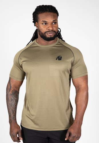 Performance T-shirt - Army Green - 4XL