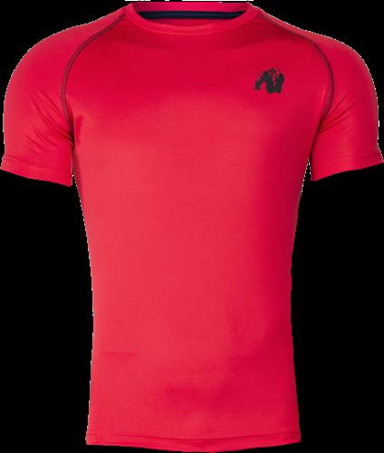 Performance T-shirt - Red/Black
