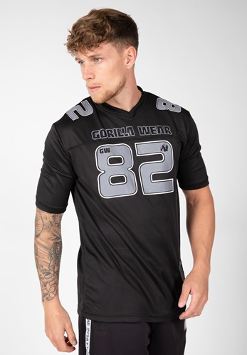 Fresno T-shirt - Black/Gray - 4XL