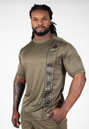 Branson T-shirt - Army Green/Black - M