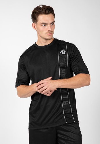 Branson T-shirt - Black/Gray - 4XL