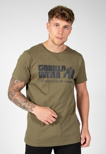 Classic T-shirt - Army Green - M