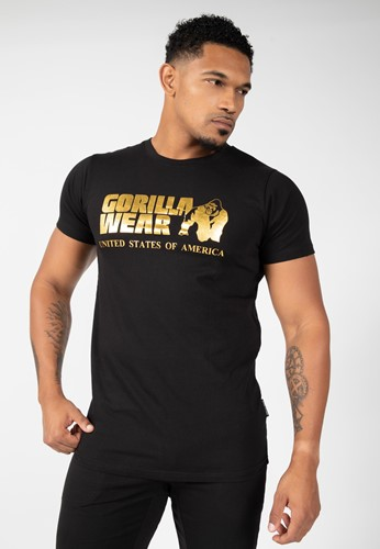 Classic T-shirt - Black/Gold - XL