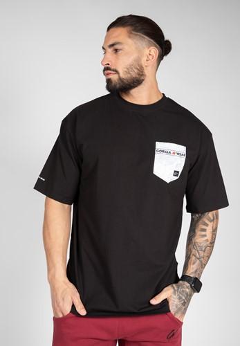 Dover Oversized T-Shirt - Black - L