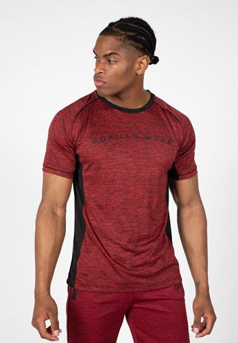 Fremont T-Shirt - Burgundy Red/Black - XL