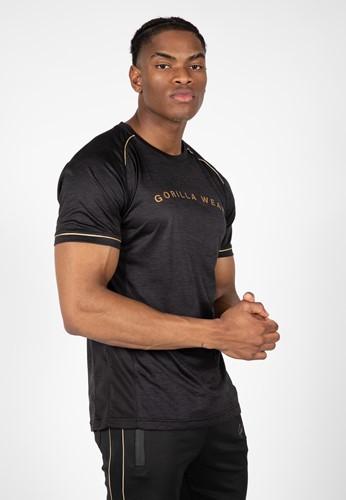 Fremont T-Shirt - Black/Gold - 3XL