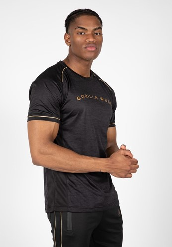 Fremont T-Shirt - Black/Gold - S