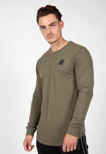 Williams Long Sleeve - Army Green - S