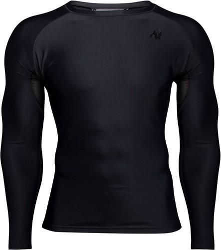 Hayden Compression Long Sleeve - Black/Black