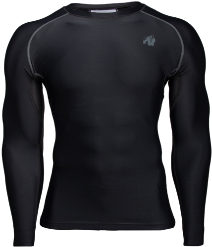Hayden Compression Long Sleeve - Black/Gray