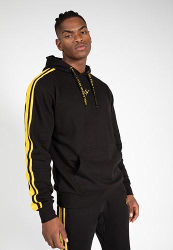 Banks Oversized Hoodie - Black/Yellow - S