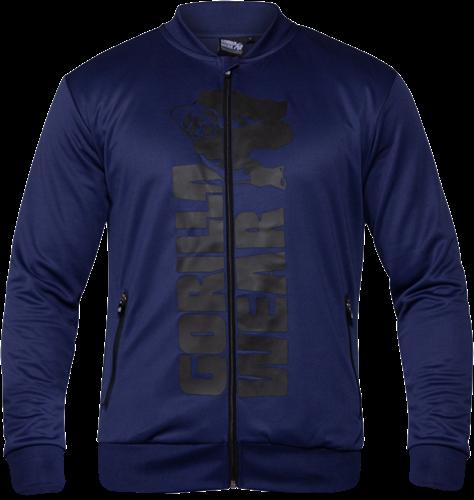 Ballinger Track Jacket - Navy Blue/Black