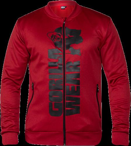Ballinger Track Jacket - Red/Black