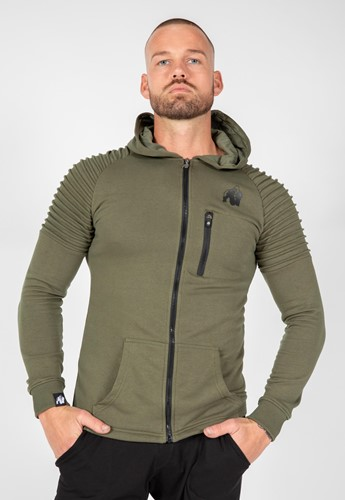 Delta Hoodie - Army Green - S