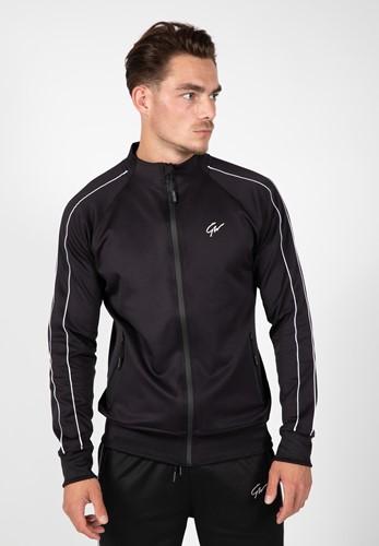 Wenden Track Jacket - Black/White - XL