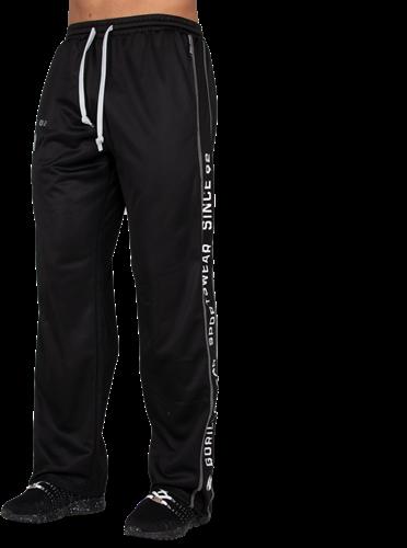 Functional Mesh Pants - Black/White
