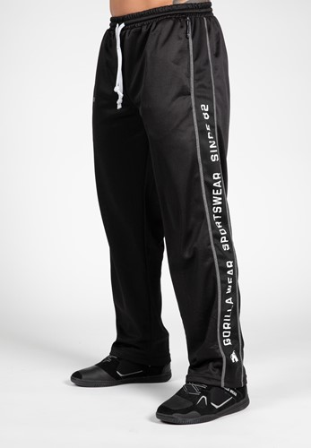 Functional mesh pants - Black/White - 2XL/3XL