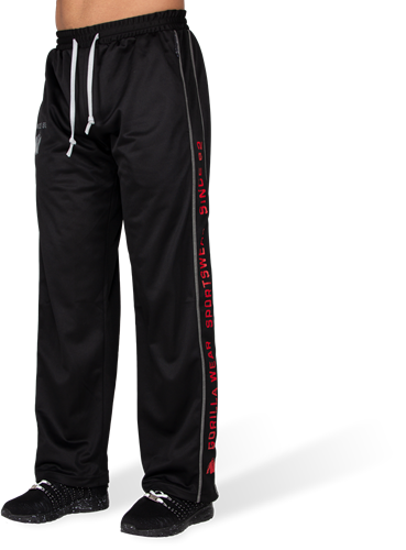 Functional mesh pants - Black/Red - 2XL/3XL