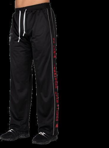 Functional mesh pants - Black/Red - S/M