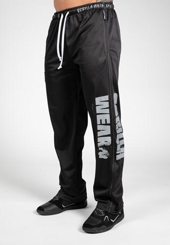 Logo Mesh Pants - Black - L/XL