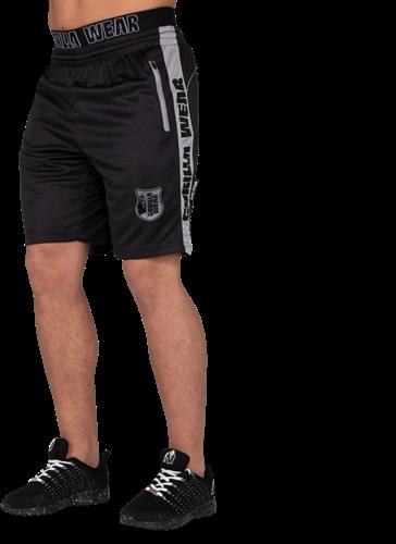 Shelby Shorts - Black/Gray-3XL