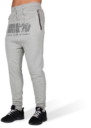 Alabama Drop Crotch Joggers - Gray - M