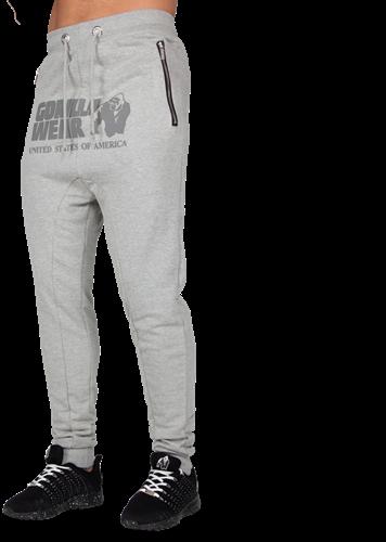 Alabama Drop Crotch Joggers - Gray - XL