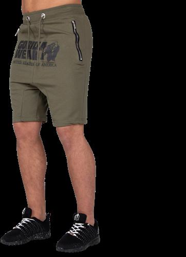 Alabama Drop Crotch Shorts - Army Green - S